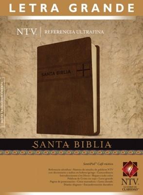 Biblia NTV con Referencias Ultra Fina (Piel especial dos tonos con detalles Cafe) [Biblia]