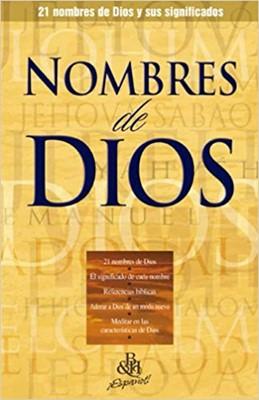 Nombres De Dios/Folleto/Coleccion Temas