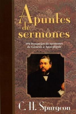 Apuntes De Sermones De Spurgeon (Rústica) [Libro]