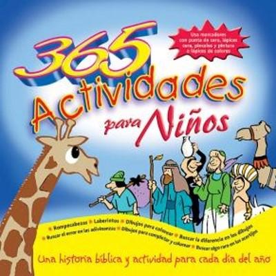 365 Actividades Para Niños (Rústica) [Libro]