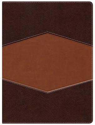 Biblia RVR  De Estudio Holman (Imitación Piel Chocolate)
