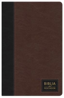 Biblia NTV del Pescador Con Índice ( Siena Oscuro Imitación Piel de Lujo ) [Biblia]