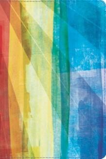 Biblia RVR de Estudio Arco Iris ( símil piel  multicolor) [Biblia de Estudio]