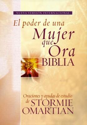 Biblia NVI El Poder De Una Mujer Que Ora (Piel italiana) [Biblia]