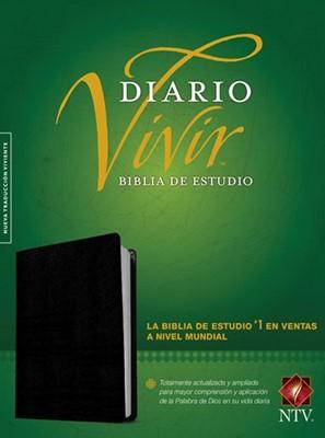 Biblia de Estudio del Diario Vivir NTV (Piel fabricada negra) [Biblia de Estudio]