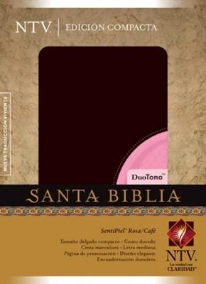 Biblia NTV (Imitación Piel Rosa / Café) [Biblia]