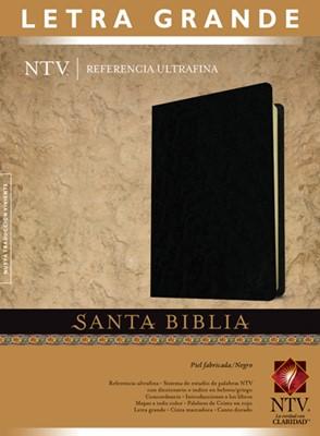 Biblia NTV Edición personal letra grande (Piel Fabricada Negra) [Biblia]