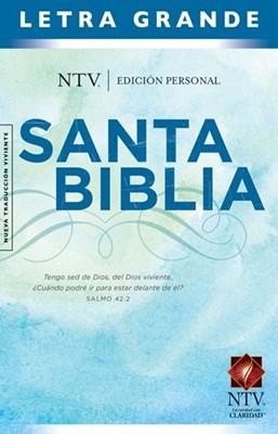 Biblia NTV Edición personal  letra grande (Tapa Dura)