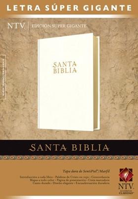 Santa Biblia  Edición súper gigante NTV (Imitación piel blanca) [Biblia]