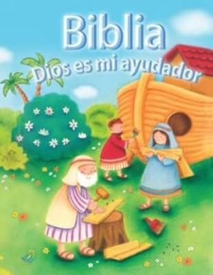Biblia Dios Es Mi Ayudador (Tapa dura) [Biblia]