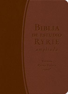 Biblia Ryrie de Estudio Ampliada (Imitación Piel DuoTono Marrón)