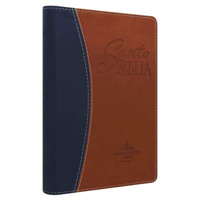 Biblia RVR065cLGPJR Duo Cafe-Azul (SimiPiel Duo) [Biblia]