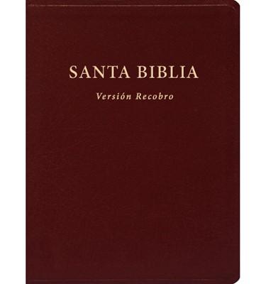 Biblia Versión Recobro de Lujo (Piel Vino) [Biblia]