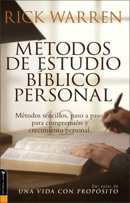 Métodos de Estudio Biblico Personal (Rústica) [Libro]