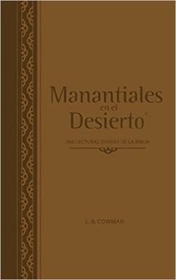 Manantiales En El Desierto (Símil Piel) [Devocional]