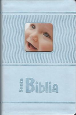 Biblia RVR 1960 Bebés (Azul) [Biblia]