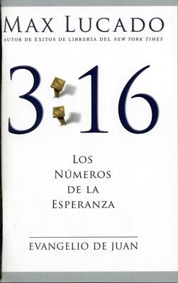 3:16 Los números de la esperanza (Rústica) [Mini Libro]
