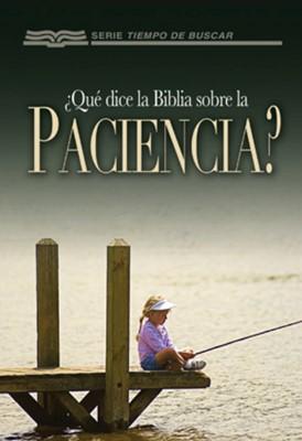 ¿Qué Dice La Biblia Sobre La Paciencia? (Rústica) [Libro de Bolsillo]