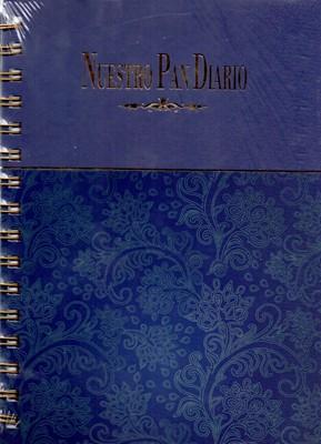 Diario Devocional Nuestro Pan Diario (Tapa dura Azul Anillado) [Diario]