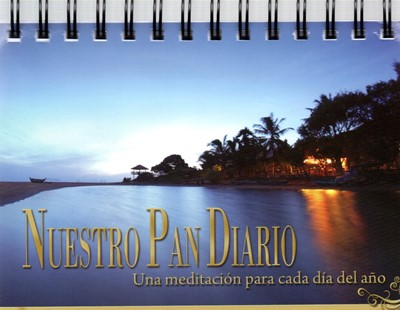 Devocional Nuestro Pan Diario Edición de Escritorio (tapa dura)