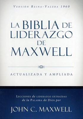 Biblia de Liderazgo de Maxwell Actualizada y Ampliada (Piel Italiana Cafe) [Biblia]