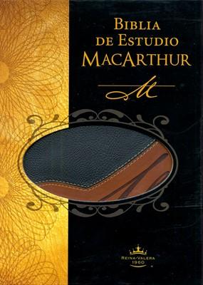 RVR 1960 Biblia de Estudio MacArthur (Imitación piel)