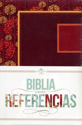 Biblia RVR Ref Otoño Frambuesa Rosado