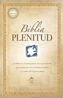 Biblia De Estudio Plenitud RVR60 (Piel Elaborada Negra) [Biblia de Estudio]