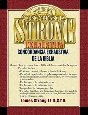 Nueva Concordancia Strong Exhaustiva De La Biblia (Tapa Dura)