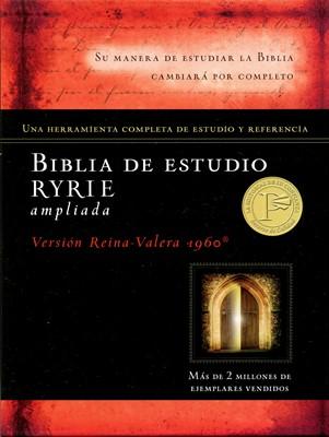 Biblia de Estudio RYRIE ampliada (Tapa Dura)