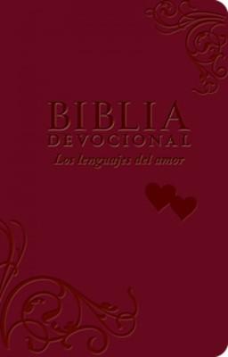 Biblia Devocional Lenguajes del amor (Imitación Piel)