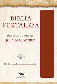 Biblia Fortaleza - Marron