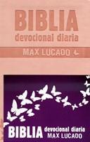 Biblia Devocional Max Lucado - Rosa