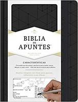 Biblia Apuntes RVR60 Piel Negro