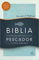 Biblia Del Pescador RVR60-Letra Grande-Tapa Dura