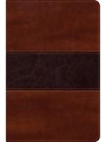 Biblia Del Pescador RVR60-Letra Grande-Caoba