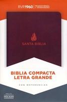 Biblia RVR60 LG Compacta Piel Fab Marron