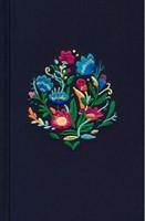 Biblia RVR60 Ultrafina Azul Bordado Tela