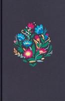 Biblia NVI LSGi Bordado Tela Azul