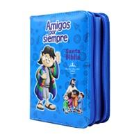 Biblia RVR Ilust Amigos Por Siempre Azul