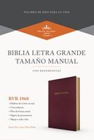 Biblia RVR60 LG Manual Borgoña