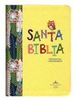 Biblia RVR045cLG Amarilla Buho