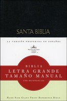Biblia/RVR/Letra Grande/Manual/Tapa Dura