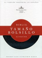 Biblia RVR Ultrafina Tamaño Bolsillo