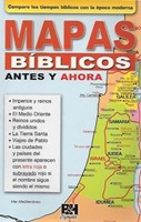 Mapas Biblicos Antes Y Ahora/Folleto/Col