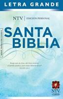 Biblia NTV Edición personal  letra grande