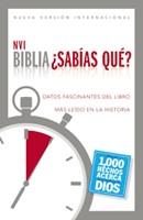 Biblia/NVI/Sabias Que/Tapa Dura