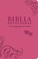 Biblia Devocional los Lenguajes del Amor Rosado