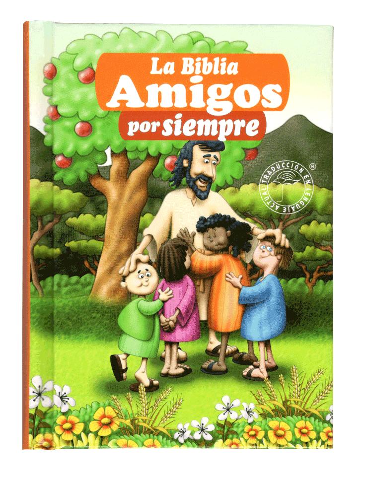 Biblia TLA023 Amigos Por Siempre Naranja