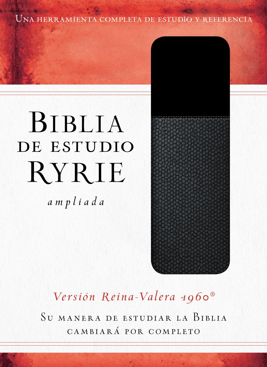 Biblia Estudio RVR Ryrie Imit Negro Duo
